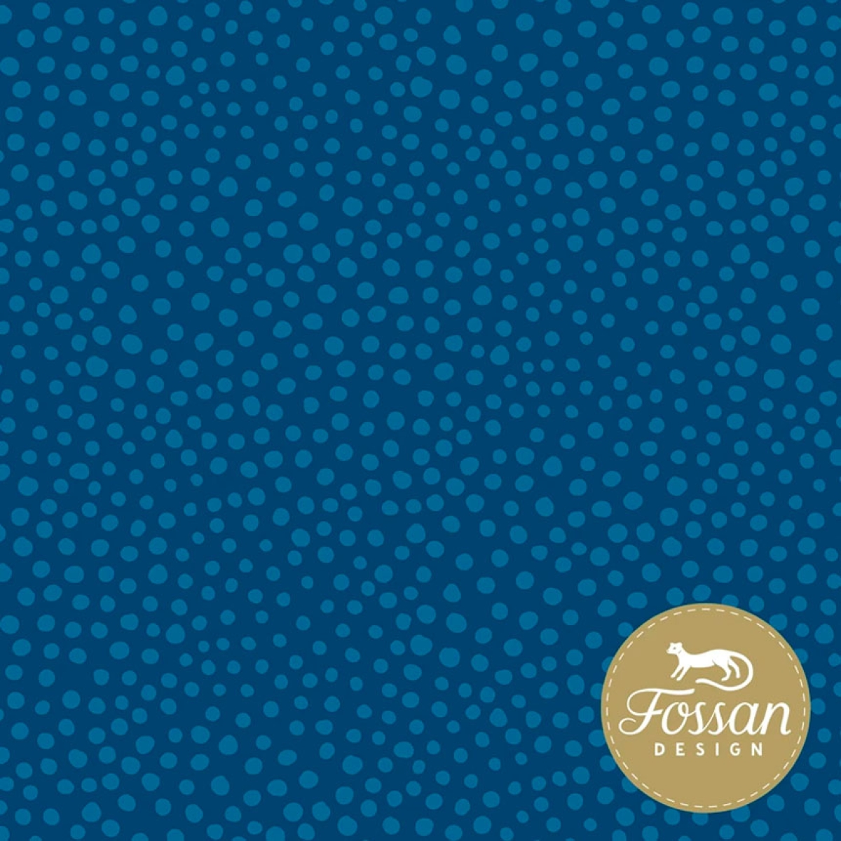 Stone Dots - blue - Bio-Sommersweat