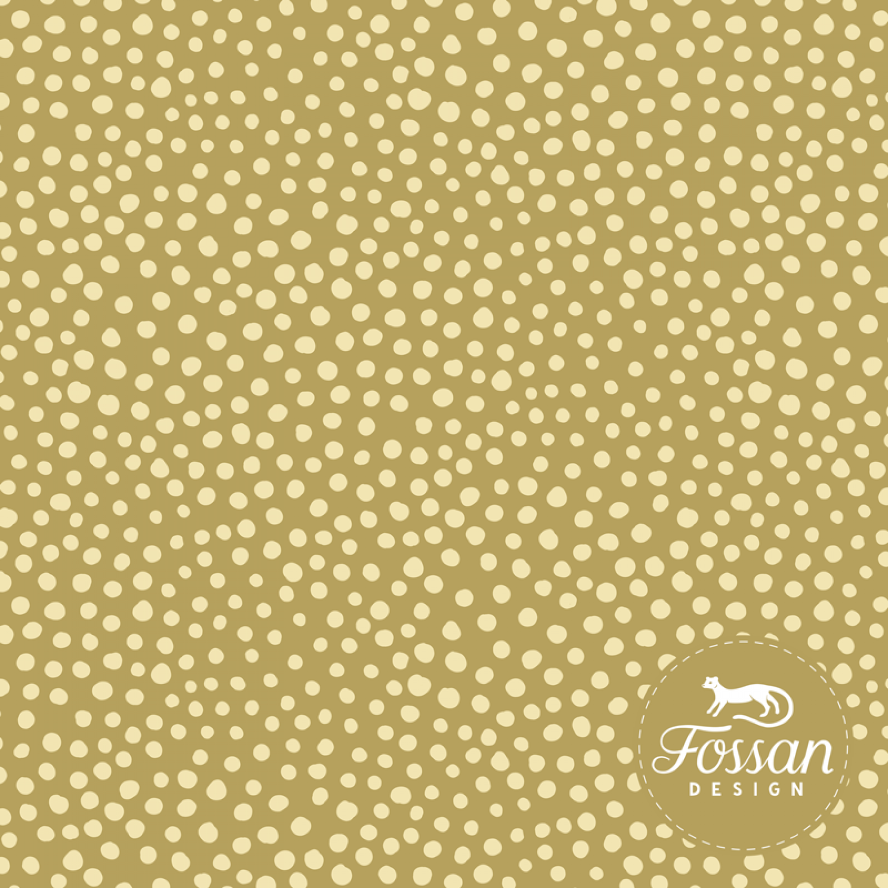 Stone Dots - gold