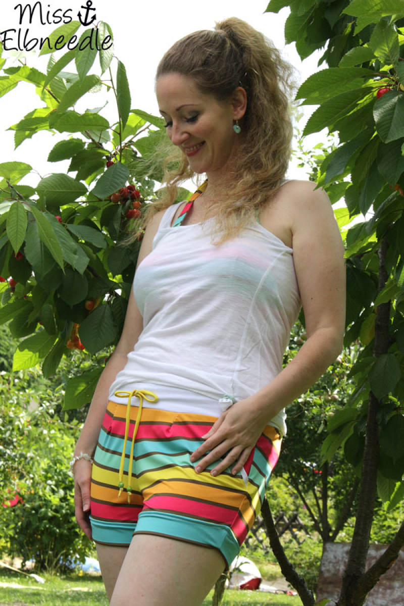 "SummerStripes ""Girls"", 3in1 Design, Badeanzugstoff"